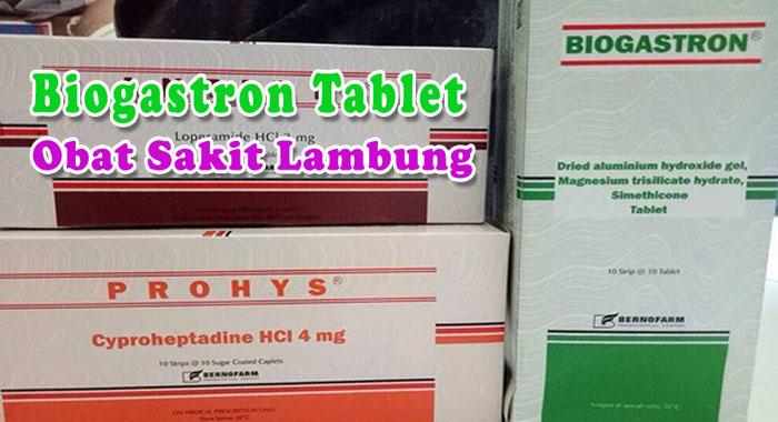 Biogastron tablet